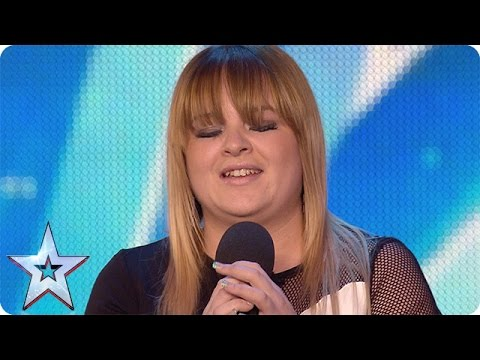 Pub singer Jade Scott gets off to a shaky start | Audition Week 1 | Britain's Got Talent 2015