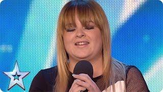 Pub singer Jade Scott gets off to a shaky start | Audition Week 1 | Britain's Got Talent 2015
