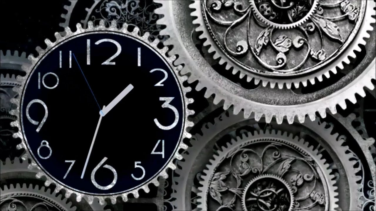 Free Stock Footage Clock Gears Time Lapse 1080p Hd