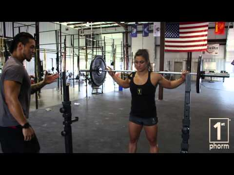 CROSSFIT TIPS Mastering the Overhead Squat 1st Phorm Fuel For Sport Performance Institute