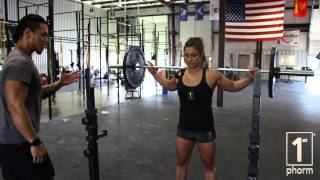 CROSSFIT TIPS - Mastering the Overhead Squat - 1st Phorm Fuel For Sport Performance Institute
