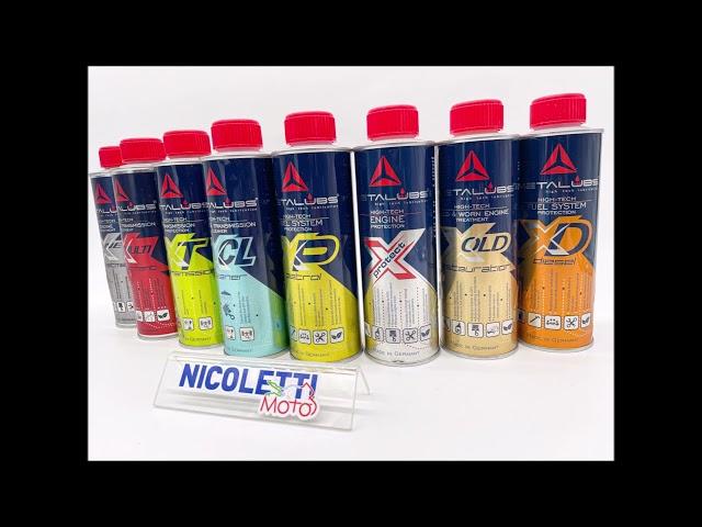 Nicoletti Moto Caltanissetta e i prodotti Metalubs accoppiata al TOP