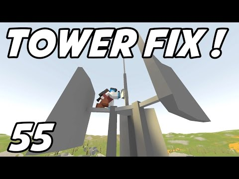 """UNTURNED - E55 """"Repairing Broadcast Towers!""""  (Russia Map Role-Play)"""