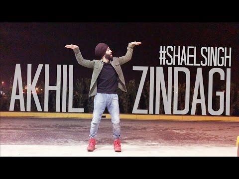 Dance On Zindagi By | Akhil | Shael Singh | Desi Routz | Latest New Punjabi Song 2017