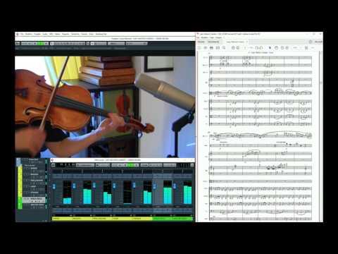 "Anna Serova: ""Lady Walton's Garden: I. Ginkgo Biloba"" - Viola concerto by Roberto Molinelli"