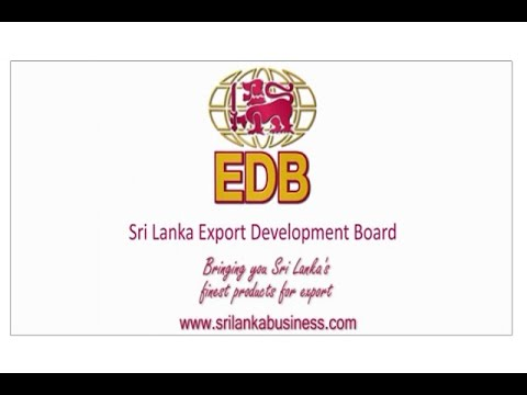 Sri Lanka Export Development Board Corporate Video 2017