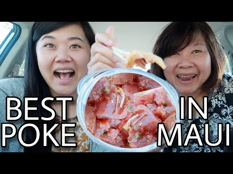 BEST POKE IN MAUI! Must Eat Foods - Maui Food Guide