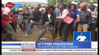 Vitimbi Mazishini: Kizaazaa cha shuhudiwa mazishini  eneo Wanyororo
