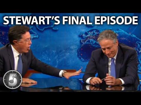 Download Youtube: Jon Stewart's Heartfelt Final Episode Of