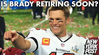 What Tom Brady thinks about playing until he's 50 | New York Post