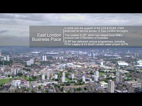 East London Business Place - Celebrating £1billion local business spend