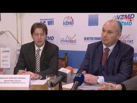 08.12.2016 Vložitev odškodninskih tožb zoper 6 bank in Banko Slovenije
