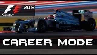 F1 2013 Career Mode Season 2 - United States Grand Prix [S2 P38]