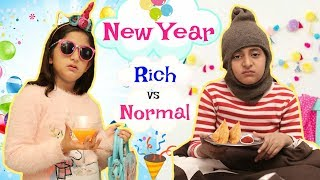 NEW YEAR PARTY - RICH vs NORMAL PEOPLE | #MoralValues #Roleplay #Fun #Sketch #MyMissAnand