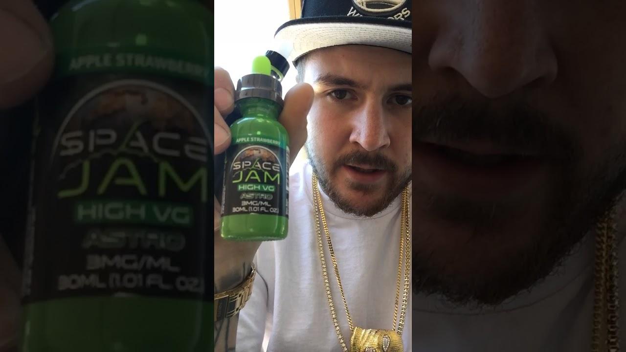 Space jam vape pen and juice review