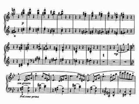 Valse oubliée - Piano
