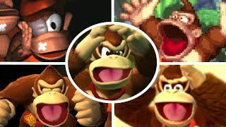 Evolution of Donkey Kong Deaths and Game Over Screens (1994-2018)