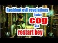 Resident evil revelations finding cog and restart key
