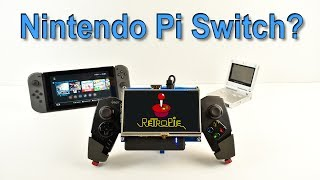 Nintendo Pi Switch? Portable Raspberry Pi 3 Ghetto Pi Boy V2 5 Inch Screen