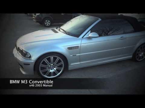 M3 BMW Convertible Review e46 Manual