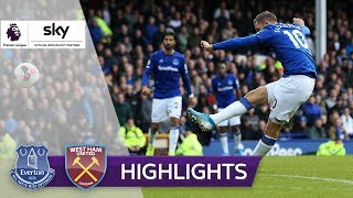 2 x Traumtor! Everton befreit sich | FC Everton - West Ham United 2:0 | Highlights - Premier League