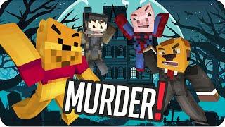PODERES DE ADIVINO! | Sara, Exo, Gona y Luh en MURDER IN MINECRAFT