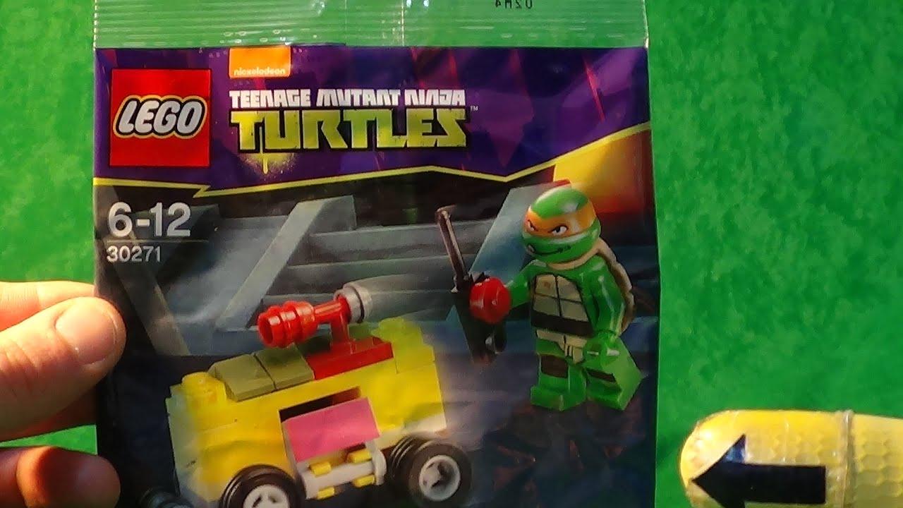 Lego 30271 mini figure Teenage Mutant Ninja Turtles Mikey/'s mini Shellraiser