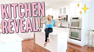 ✨NEW HOUSE KITCHEN REVEAL TOUR | KITCHEN REMODEL BEFORE &  AFTER | ULTIMATE CLEAN WITH ME | Love Meg