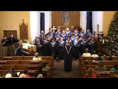 December 20, 2015 - worship at Our Savior's, West Salem, Wisconsin