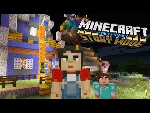 Ruining Our Houses - My Minecraft StoryMode House with Stampy (Ep.22)