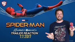 Spider-Man: Homecoming Official Trailer #3 Reaction and Review