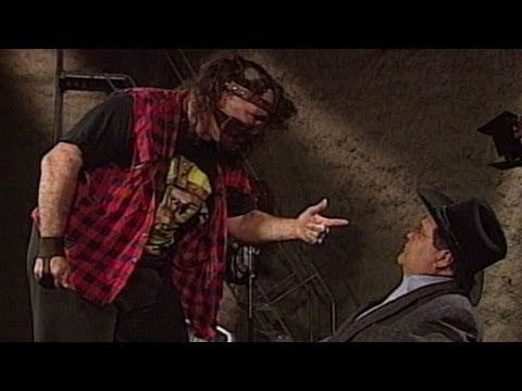 Mankind attacks Jim Ross: Raw, June 9, 1997