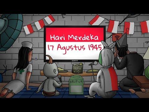 Hari Merdeka - 17 Agustus Cover Versi 10 Animator Indonesia   Kartun Lucu Rizky Riplay