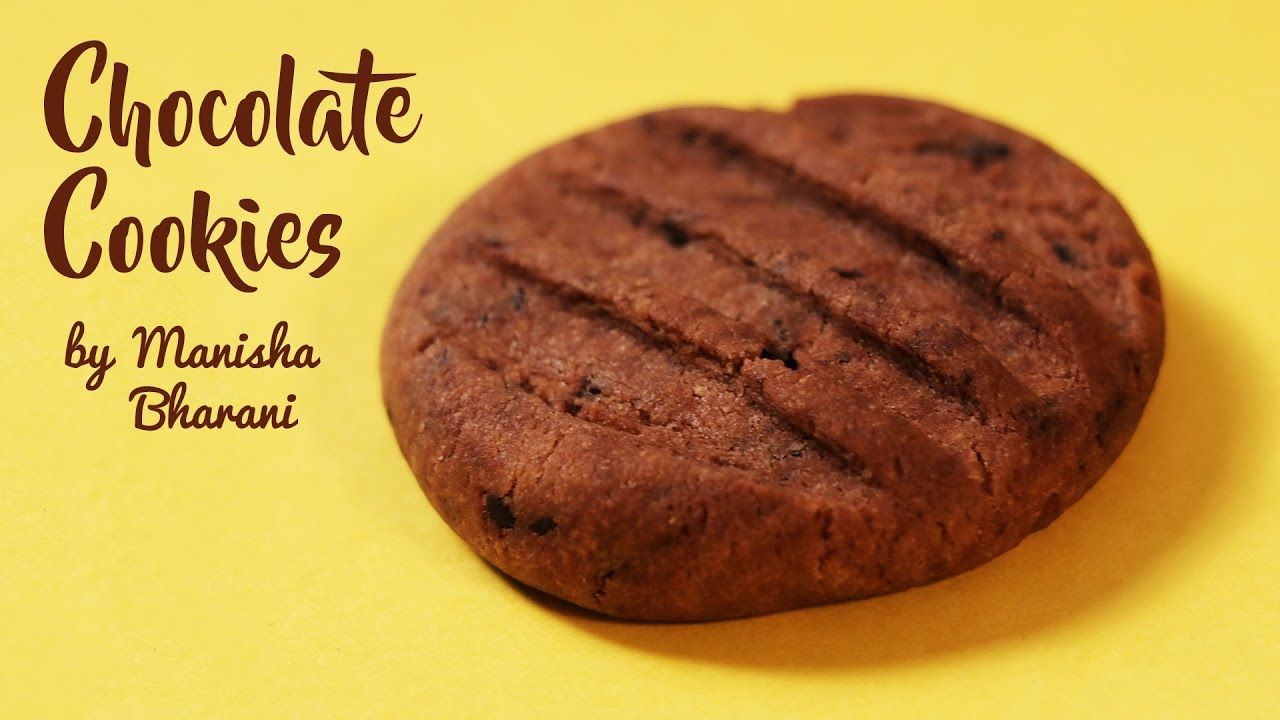 Recipe of chocolate cookies eggless