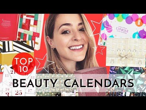 Top 10: Beauty ADVENT CALENDARS - 2018 | Fleur De Force