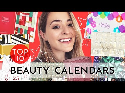Top 10: Beauty ADVENT CALENDARS - 2018 | Fleur De Force