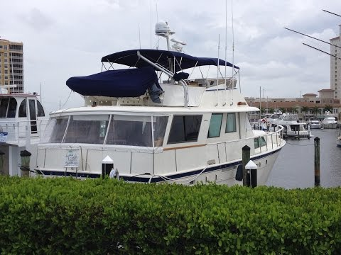 SOLD - 56 Hatteras 1981 Yacht for Sale - SOLD