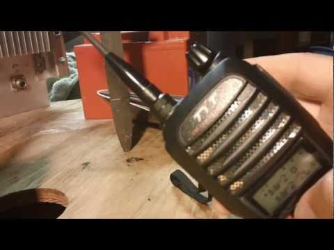 Vid Response For Search And Rescue setup for UVF1 radios for