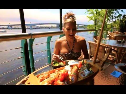 Sushi on the water...Koja Sushi restaurant, Jacksonville Florida:))