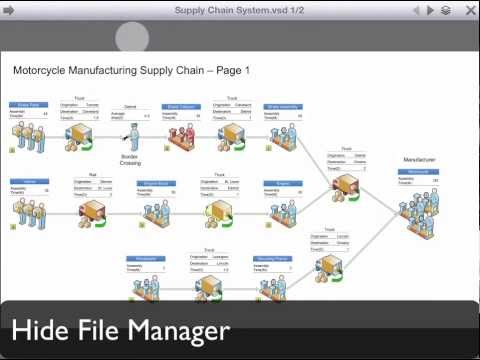 VSD Viewer - Professional Visio® Viewer for iPad and iPhone