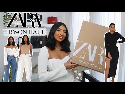 HUGE ZARA TRY ON HAUL | *NEW IN* BASICS YOU NEED | NOORIE ANA