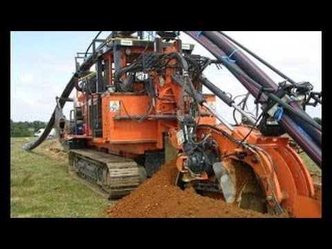 EXTREME # New Unbeliable Heavy Equipment 2016, Amazing Fiber Optic Cable Laying Machine #HD #2017