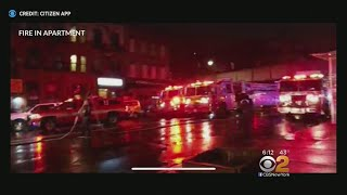 10 Firefighters, Residents Hurt In East Harlem Fire