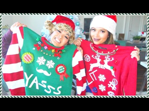 Diy Christmas Sweaters With Marianna Hewitt