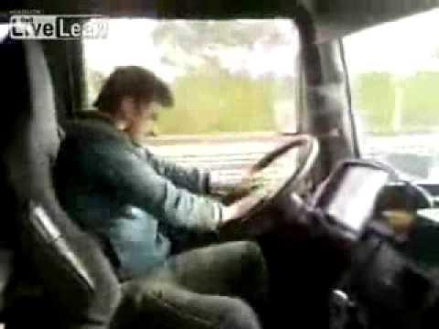 Schwuler Sex mit Lkw-Fahrer