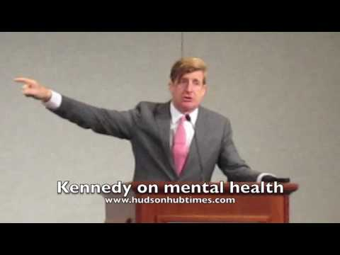 Former U.S. Rep Patrick Kennedy speaks on mental illness