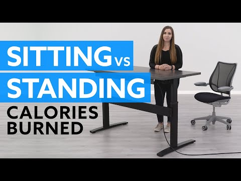 How Many Calories Will I Burn Sitting vs Standing?