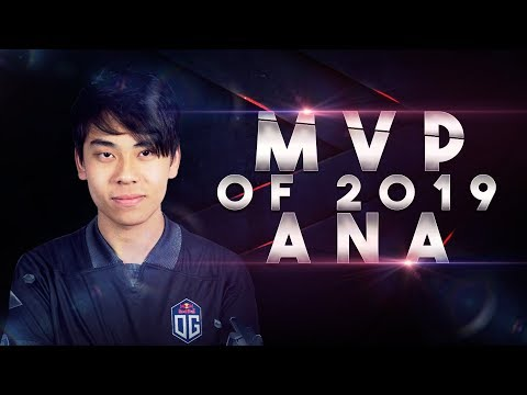 OG.ana MVP - Best Moments Of 2019 Dota 2