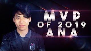 OG.ana MVP - Best Moments of 2019 Dota 2
