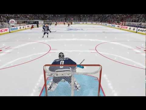 NHL 12 Commentary- Playing Goalie